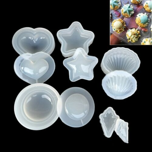 DIY Silicone Mold Making Pendant Jewelry Resin Casting Mould Craft Tool Clear