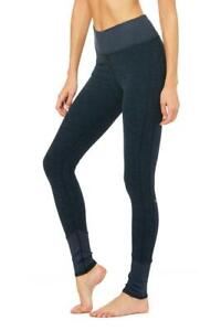 Authentic Womens ALO  YOGA Workout Running Gym Sport Pants Leggings Fitness