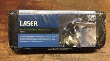 Laser Tools 4315 - Brake Bleeding Wrench Set 5 Piece in Zip Wallet