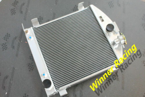 "21.5/"" aluminum alloy radiator Ford hot rod chopped w//Chevy SB V8 engine 30-32"