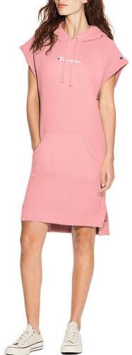 Champions Women/'s REVERSE WEAVE HOODED DRESS Pink WL779-549727-7CY c