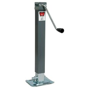 bulldog trailer jack drop foot weld on 5000lbs side wind for utility