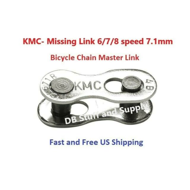 TEC 9 SPEED BICYCLE BIKE CHAIN w// Master Link 116 Link Shimano Compatible