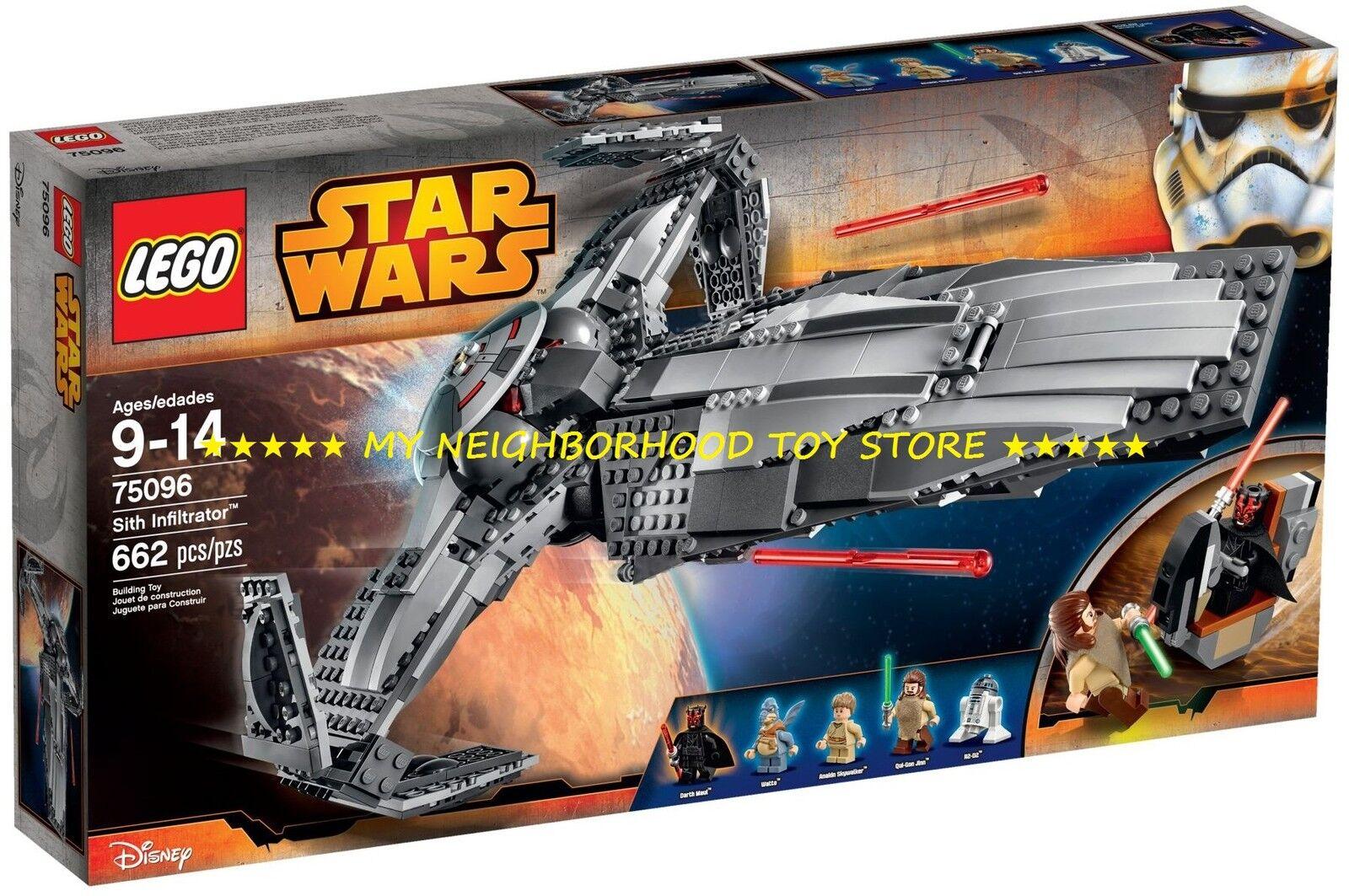 RETIrot PRONTA CONSEGNA - LEGO 75096 STAR WARS™ SITH INFILTRATOR™