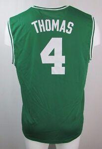 4cf74844 Boston Celtics Men's XL-4XL #4 'Thomas' Replica Jersey NBA adidas ...