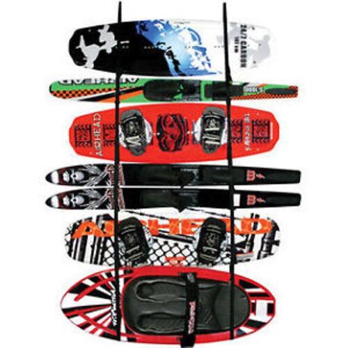 Kwik Tek  LR-1 Airhead Ladder Rack Wakeboard Kayak Water Ski Paddle Wall Mount