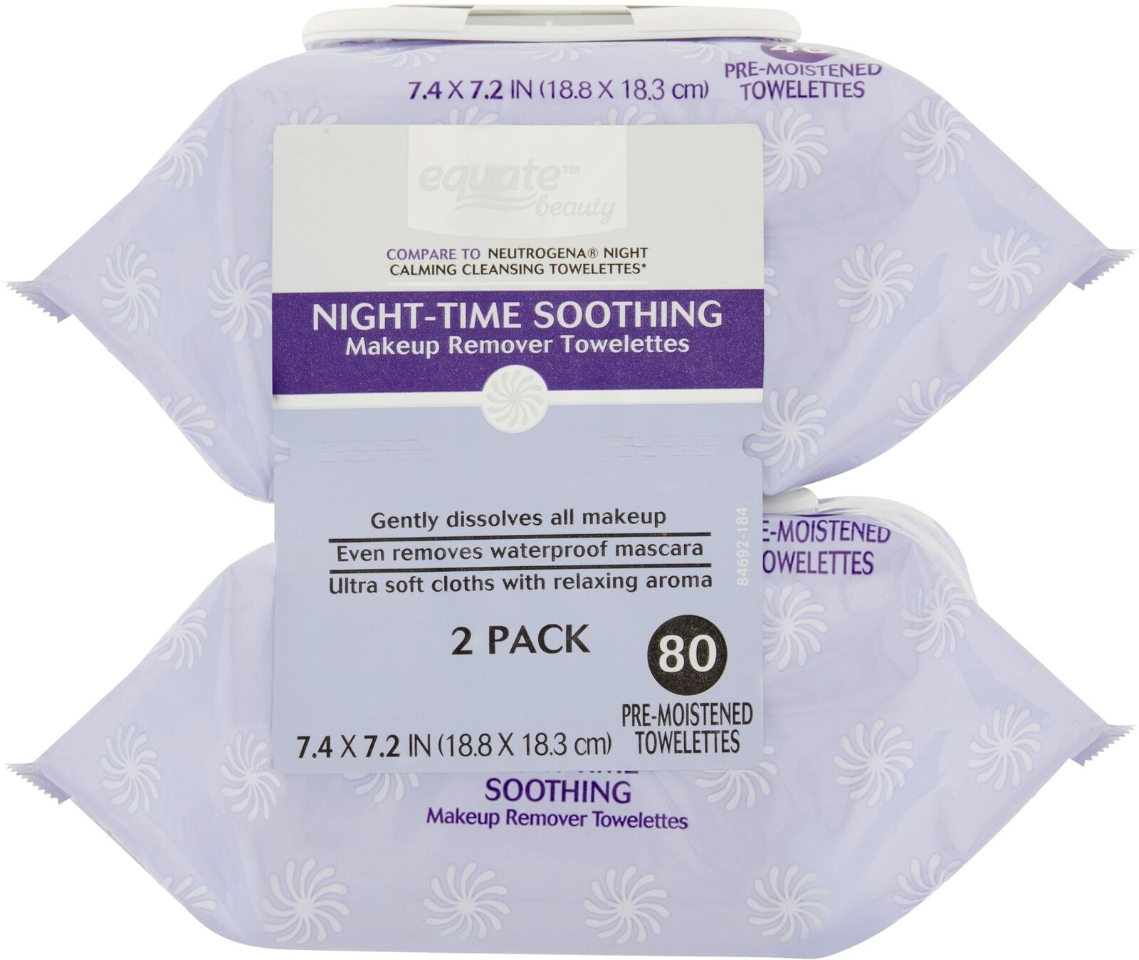 Equate Beauty Night Time Soothing Makeup Remover Towelettes 40 Biore Cleansing Oil 150ml Free In Sheet 2s Sample Norton Secured Powered By Verisign
