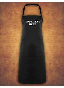 Personalised-Custom-Printed-Baking-Cooking-Chef-Business-Apron-Gift-Black