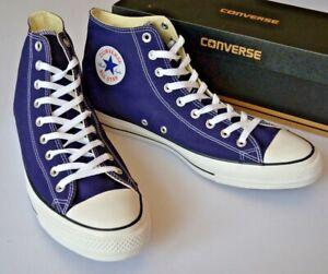 Details about Converse Chuck Taylor Mens High Top Pumps Big & Tall Purple UK 17 EU 53