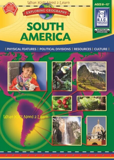 Australian Curriculum Geography Year Five Ages 10-12 by RIC Publications  Pty Ltd(Paperback)