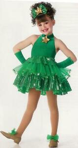 Details About Cute As Christmas Ballet Tutu Dance Dress Costume Adult Large Last One Clearance