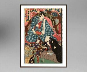 UTAGAWA-KUNISADA-1786-1865-ANCIENNE-ESTAMPE-JAPONAISE-22