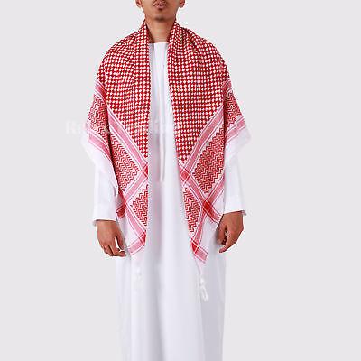 Shemagh Tactical Desert Arab Palestine Yashmagh Ghutrah Muslim Keffiyeh Scarf