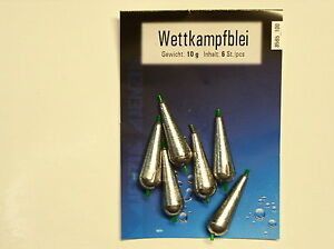 torpillos 3 Kopfrute 5 10 grammes-populaire 4 8 6 stippe Compétition plomb