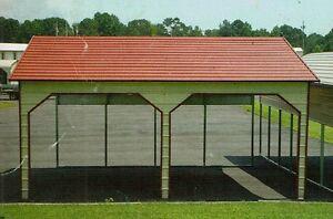 21x18 STEEL Carport, Garage, Storage Building FREE DELIVERY ...