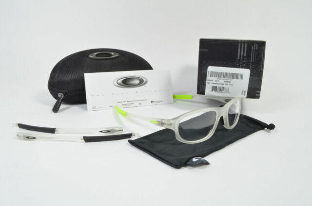 New Oakley Ophthalmic RX CROSSLINK STRIKE (54) Eyeglasses Frost OX8048-0554 NEW
