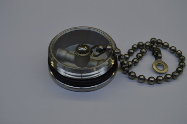 NEW SEA RAY REPLACEMENT CAP AND CHAIN SEARAY PART # 522557
