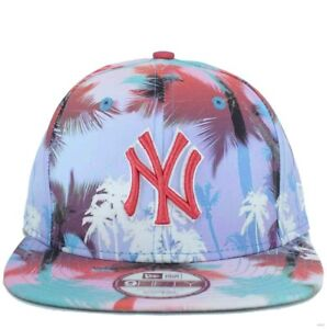 a9e42fa2f07c73 New Era MLB 9Fifty Miami Vibe NY new York Yankees Strapback Baseball ...