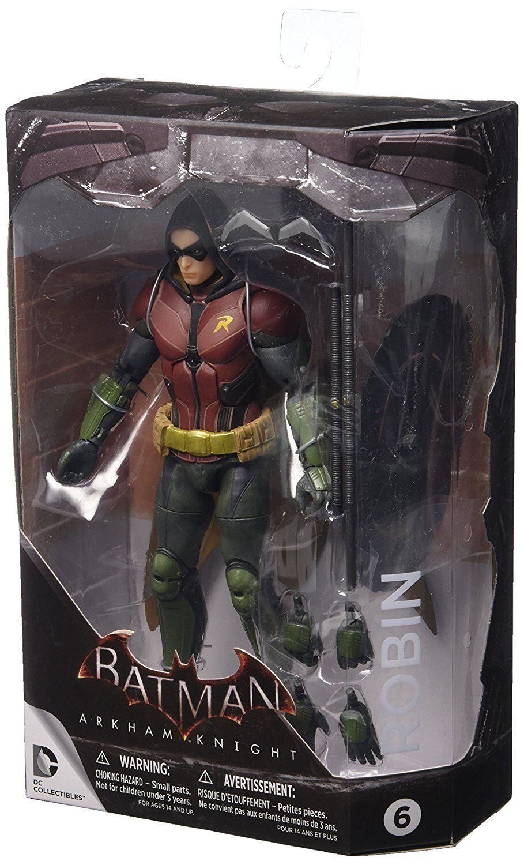 Auch batman arkham - ritter  robin action - figur