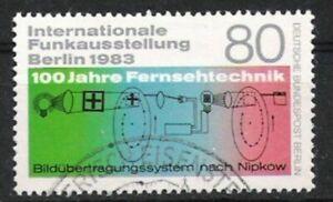 Berlin Nº 702 Exposition Internationale 1983, Estampillé-g 1983, Gestempeltfr-fr Afficher Le Titre D'origine Une Offre Abondante Et Une Livraison Rapide