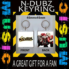 N-DUBZ- KEYRING- KEY CHAIN-45X45MM-GREAT GIFT FOR A FAN #CD49