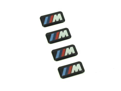 4 x Genuine New BMW M WHEEL BADGE Emblem M-Tech M-Sport 1 2 3 4 5 5 Series X3 X5