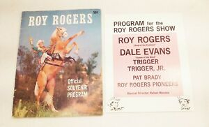 Vtg-Roy-rogers-official-souvenir-program-1950s