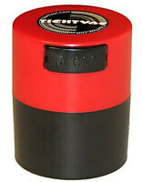 .12 Liter Tightvac Airtight Smell Proof Vacuum Sealed Container Red