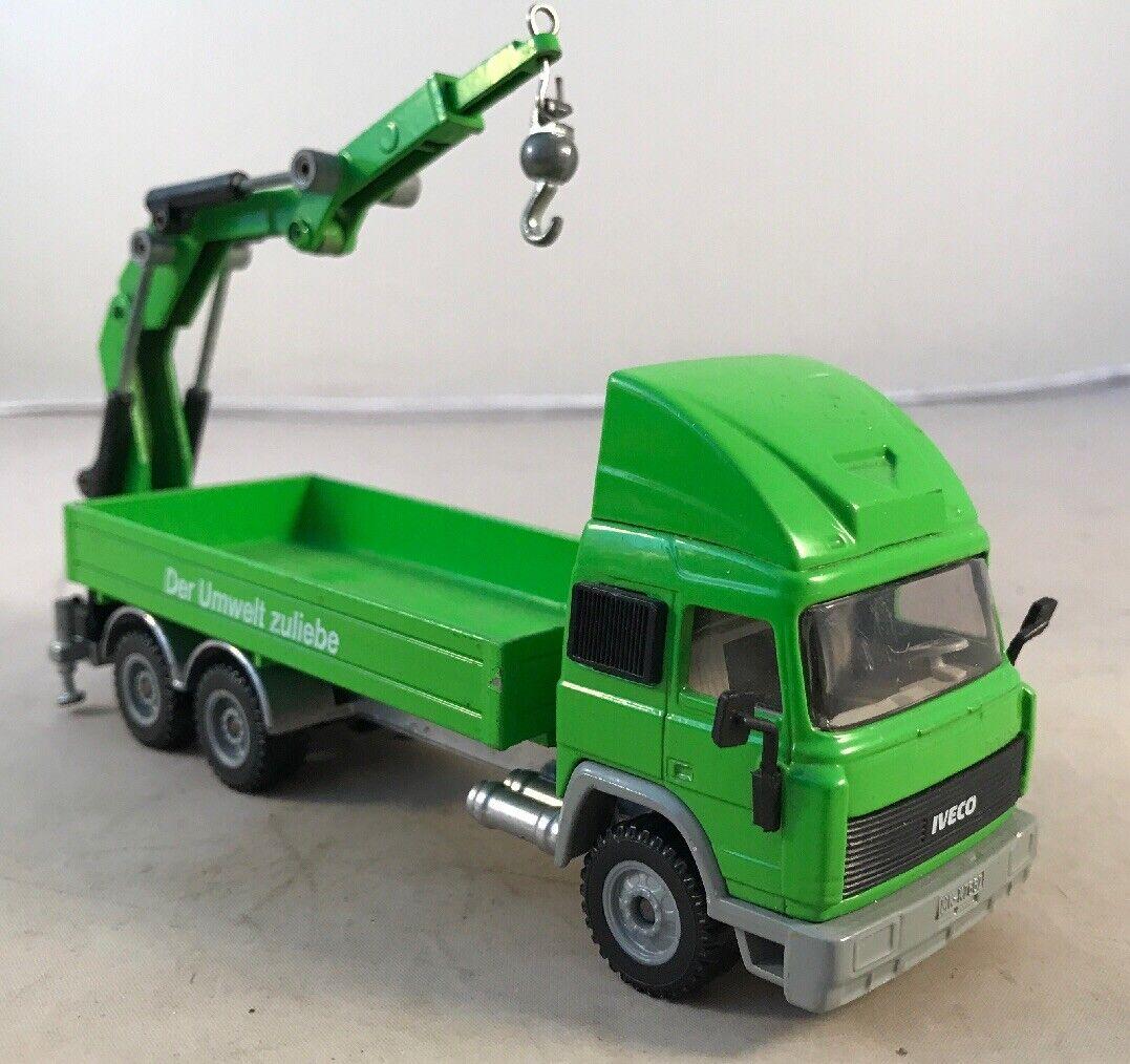 diseños exclusivos Siku Camión mit ladekran Construcción Camión Camión Camión Y Trailer Iveco  diseño único