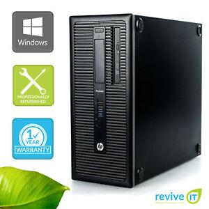 Custom-Build-HP-ProDesk-600-G1-Tower-i3-4130-3-40GHz-Desktop-Computer-PC