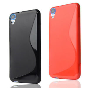 Soft-S-Line-Antislip-TPU-Silicone-Case-Skin-Cover-Back-Pouch-For-HTC-Desire-820