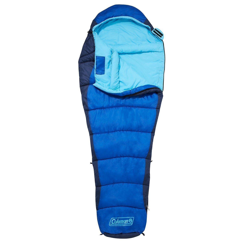 Coleman Fision 100 Mummy Sleeping Bag Camping Hiking Caravan Motorhome