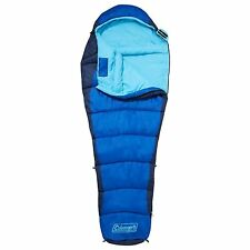 Coleman Fision 100 Mummy Sleeping Bag Camping Hiking Caravan Motorhome