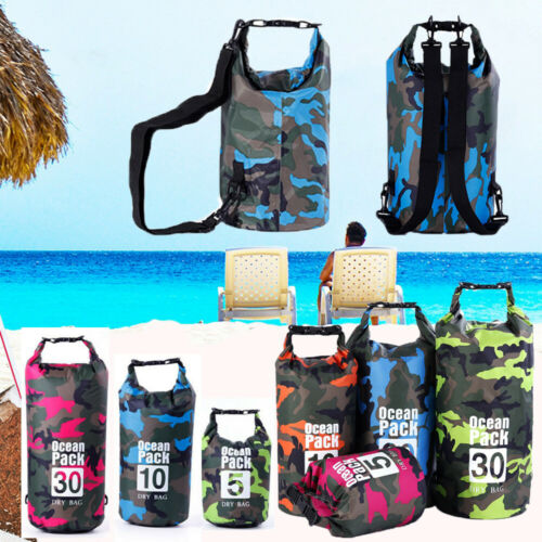 Rafting Diving Accessories Waterproof Dry Bag River Ocean Backpack Bags