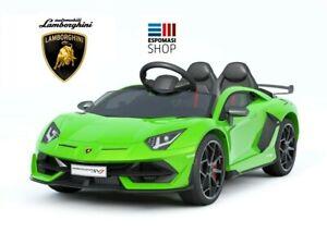 Auto-Macchina-Elettrica-per-Bambini-12V-Lamborghini-Aventador-SV-12v-NEW-2020