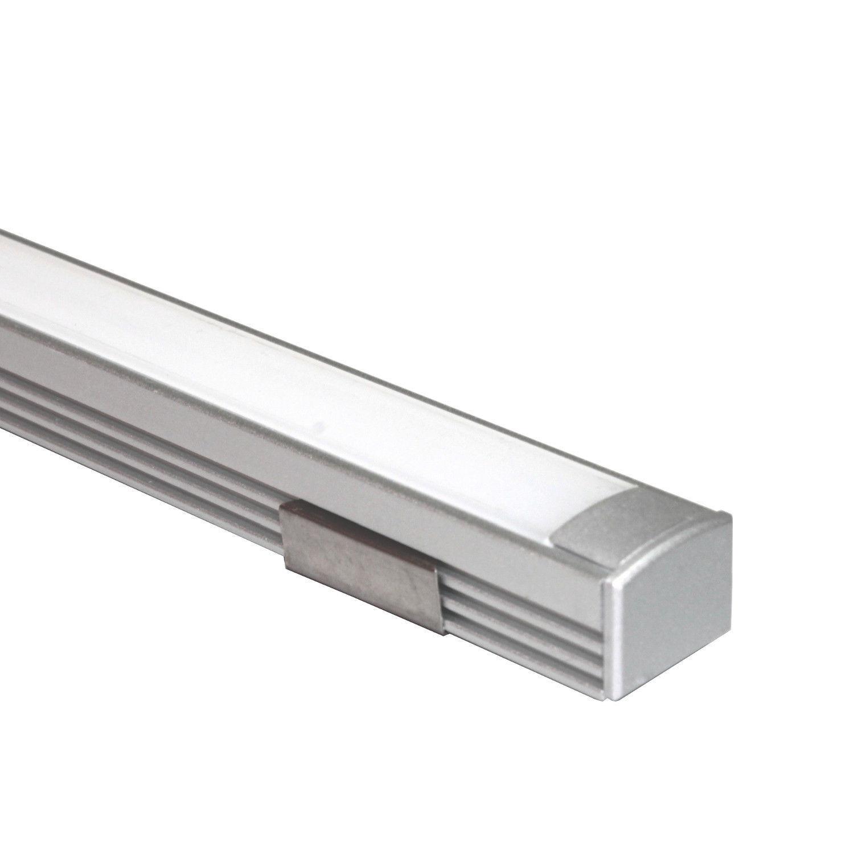led aluminium alu profil leiste lichtleiste profilleiste schiene f r led stripes ebay. Black Bedroom Furniture Sets. Home Design Ideas