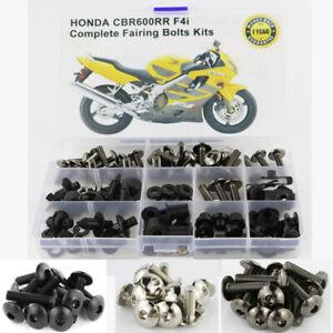 Fairing Bolt Kit Bodywork Screws For Honda CBR600RR F4 1999-2007 F4i 2004-2007