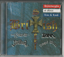 """ British Steel"" CD 1998 NEU & OVP -  SAMSON/GIRLSCHOOL/ANGEL WITCH/TANK"
