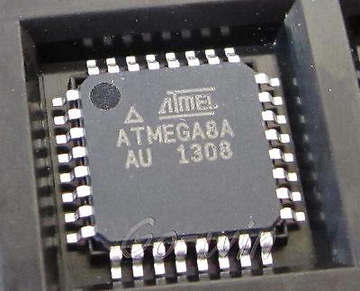 2PCS ATMEL ATMEGA8A-AU TQFP-32 IC