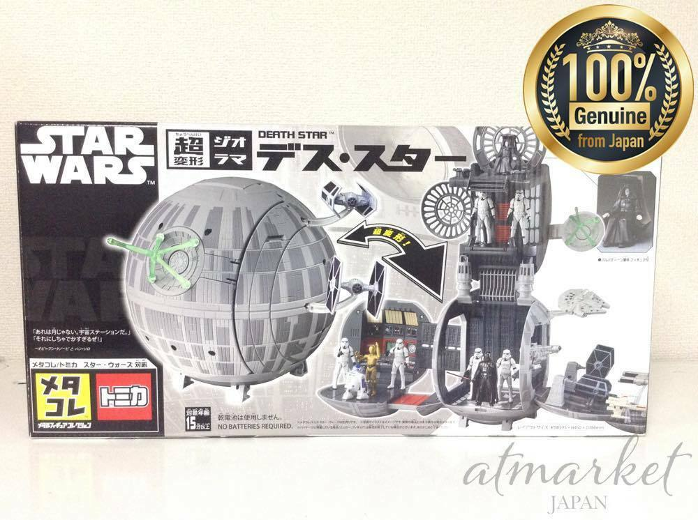 Star Wars Super Transformation Diorama Todesstern Takara Tomy Neu von Japan Ems  | Räumungsverkauf