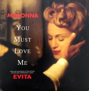 Madonna-CD-Single-You-Must-Love-Me-Germany-VG-M