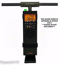 MW Super Ferrite Antenna & Stand For County Comm GP-5/SSB & Tecsun PL-360 Radio