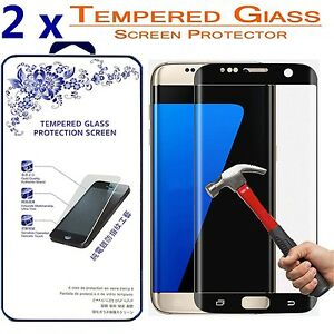 2-Pack-For-Samsung-Galaxy-S7-Edge-Tempered-Glass-Screen-Protector-9H-Glass
