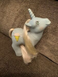 Vintage-1987-My-Little-Pony-SUNDAE-BEST-Unicorn-Ice-Cream