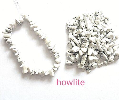 ca. 25.40 cm ca. 15.24 cm Gemstone Bracciale Raw Natural chip pietra perline elasticizzato fatto a mano 6 in - 10 in