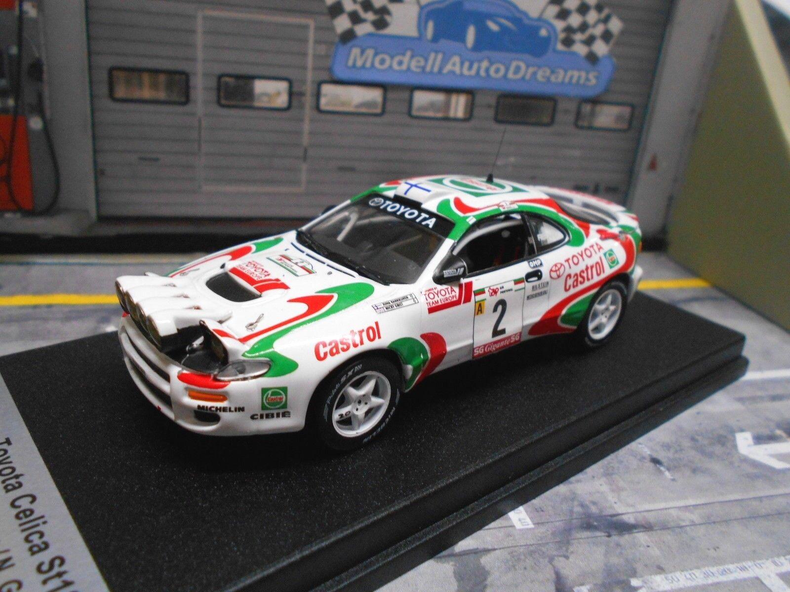 TOYOTA CELICA 4x4 st185 Rallye Portugal 1994  Kankkunen Winner TROFEU 1 150 1 43  grande vente