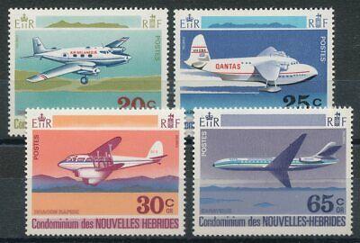 Vorsichtig 300556 Briefmarken Motive Neue Hebriden Nr.319-322** Flugzeuge
