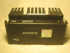 Intel Pentium II Processor & heat sink w/ MMX technology R7310157-076 computer