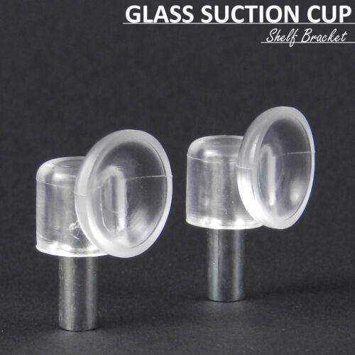 12x verre ventouse support titulaire étagère supoport pin caoutchouc avec chevilles bricolage