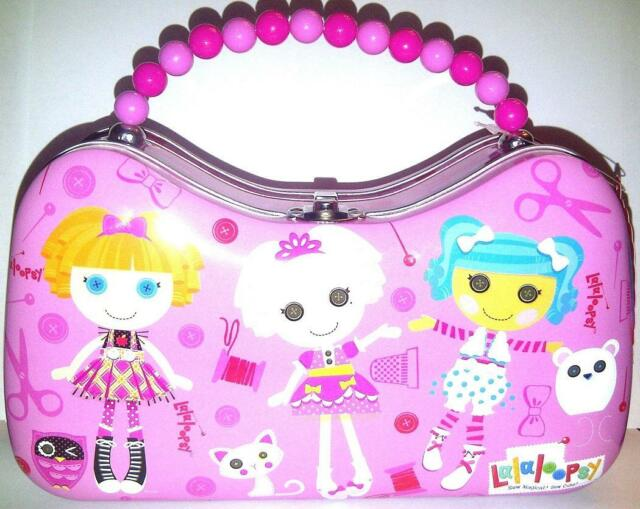 Lalaloopsy Adventures Birthday Party Favor Gift Lunch Box Tin Purse 3 COLORS